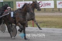 Eros Zola - vinder af 2. løb - Foto: René Lind Gammelmark
