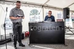 Grindsted Festuge - Fællessang i teltet på Nørretorv 28-08-2017