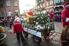 Juleoptog i Grindsted 3. december 2017