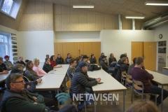 Søren Frederiksen fra Landmand søger kærlighed fortalte på Grindsted Landbrugsskole