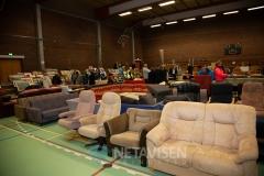 Billund Y'smens holdt Loppemarked i  Billund Idrætscenter 22. september 2018