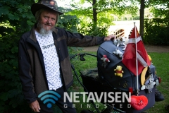 Vagabonden Brian fra Køge - Foto: René Lind Gammelmark