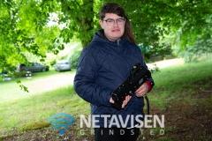 Mikkel deltog i lasergames - Foto: René Lind Gammelmark