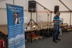 Grindsted Festuge - Foredrag om sport og hypnose i Festugeteltet 28-08-2017