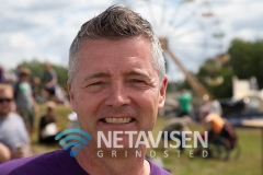 Formand for Vorbasse Grundejerforening  Brian Madsen - Foto: René Lind Gammelmark